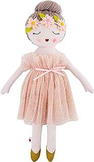 (Ballerina Doll) - Hearts of Yarn Ballerina Plush Handmade Doll