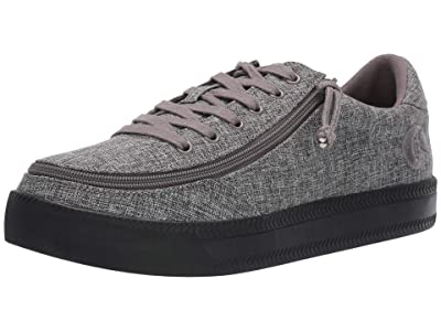 BILLY Footwear Classic Lace Low Chambray SINGLE SHOE (Charcoal Jersey) Men