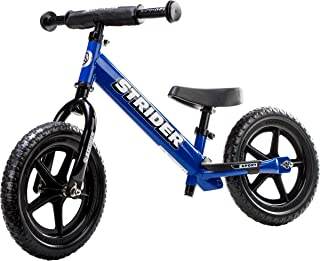 Strider 12 Sport Kids Balance Bike, Blue