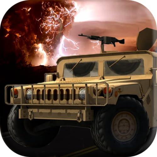 Tempestade de fogo do carro de corridas: Gunship