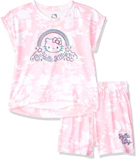Hello Kitty Girls Sleeve Short Set
