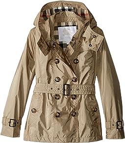 Burberry Kids - Grangemoore Checked Hood Jacket (Little Kids/Big Kids)