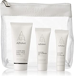 Alpha H Clear Skin Kit, Face Wash, Hydrator Gel and Blemish, 52.5ml (Pack of 3)