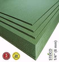 STEICO Wood Fiber Flooring Underlayment for Laminate Vinyl LVT LVP Hardwood Floor 6 mm 1/4 inch 90 SqFt Natural Sound Insulation Barrier