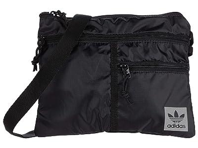 adidas Originals Originals Flat Crossbody (Black) Handbags