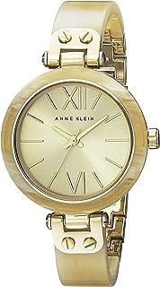 Anne Klein 10/9652CHHN Reloj para Mujer, Redondo, Análogo, color Oro