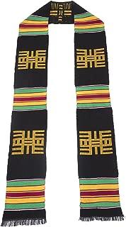 Knowledge Kente Cloth Graduation Stole