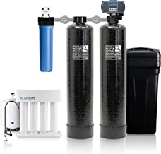 Aquasure Signature Series Complete Whole House Water Treatment System w/water softener, Water Conditioner & 75GPD RO Syste...