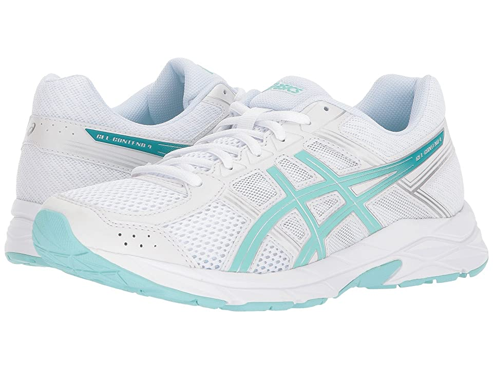 ASICS GEL-Contend 4 (White/Aruba/Silver) Women