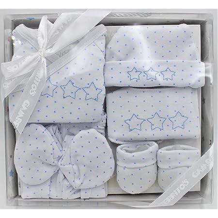 Conjunto para recién nacido de 5 prendas, Set regalo azul ...