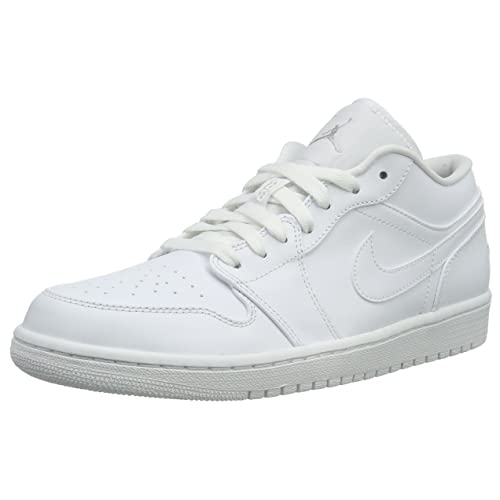 ad2f40aa341e7e Jordan 1 Low White  Amazon.com