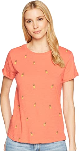 All Over Printed Pineapple Tee