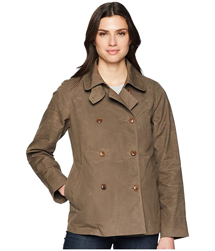 Filson Whitmarsh Trench (Olive/Gray) Women's Coat