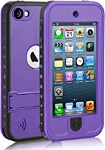 Waterproof Case for iPod 7 iPod 5 iPod 6, Meritcase Waterproof Shockproof Dirtproof Snowproof Case Cover with Kickstand fo...