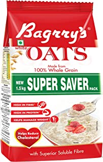 Bagrry's White Oats Pouch, 1500 g