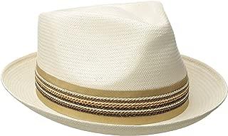 Carlos Santana Men's Shantung Pinch Front Hat