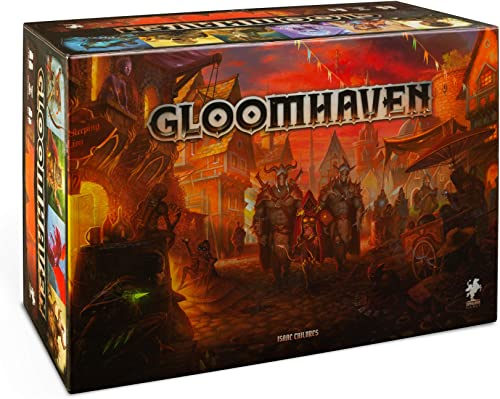 Cephalofair Games Gloomhaven Multi-Award-Winning Strategy Boxed Board Game for ages 12 & Up