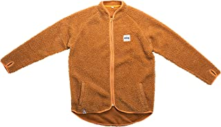 Eivy Damer Redwood Sherpa Jacket Teddy Fleece jacka 50 cm med dragkedja