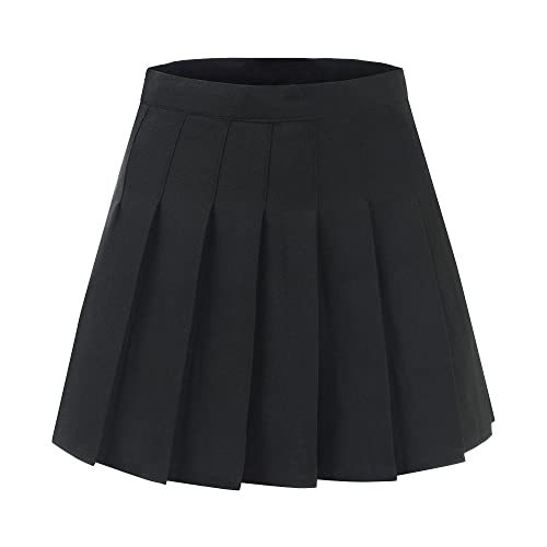 82647294d1 Makroyl Women High Waist Pleated Dresses for Teen Tennis Scooters Mini  Skirts
