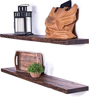 DAKODA LOVE Floating Shelves Solid Wood 48
