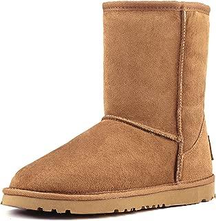 Women's Classic Sheepskin Half Snow Boots