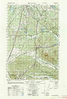 YellowMaps Tenino WA topo map, 1:50000 Scale, 15 X 15 Minute, Historical, 1964, Updated 1965, 29.2 x 19.9 in