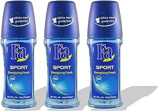 Fa Deodorant 1.7oz Roll-On (3 Pack) (sport energizing fresh)