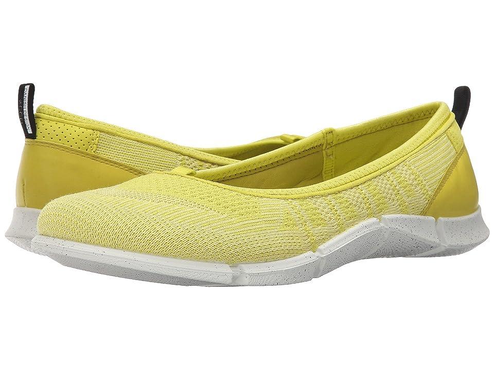 ECCO Sport Intrinsic Karma Flat (Sulphur/Lemon Neon Sulphur/Sulphur) Women