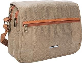 KILLER Polyester Casual Messenger Crossbody Bag (Khaki)