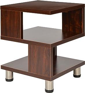 ts-ideen Mesa auxiliar unidad de almacenamiento madera en