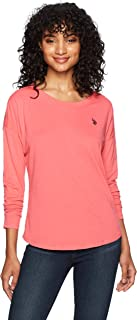 US Polo Assn Women's Long Sleeve Fashion T-Shirt