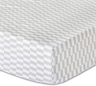 Mosaic Fitted Crib Sheet by The Peanut Shell