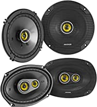 """Pair KICKER 46CSC6934 6x9"""" 900 Watt+Pair 46CSC654 6.5"""" Car Audio Speakers photo"""