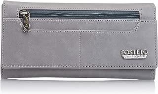 Fostelo Women's Versatile Two Fold Wallet (Grey)