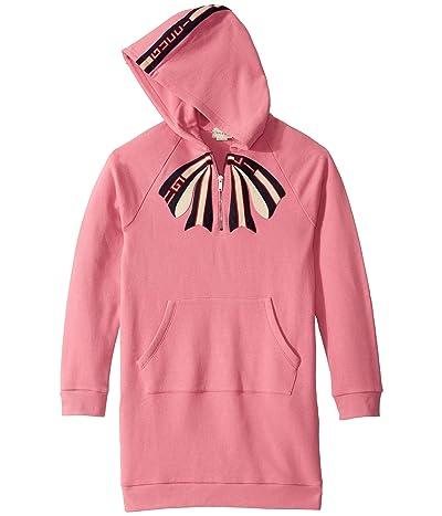 Gucci Kids GG Bow Long Sleeve Dress w/ Hood (Little Kids/Big Kids)
