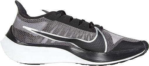 Black/Metallic Silver/Wolf Grey/White