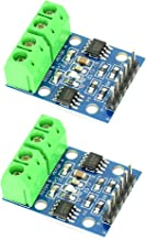 2pcs HG7881 Dual Channel DC Motor/Stepper Motor Driver Module Board 2.5V to 12V with 4 Holes for Easy Mounting from Optimus Electric