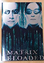The Matrix Reloaded Japan Movie Program 2003 Keanu Reeves Carrie-Anne Moss - NOT A DVD