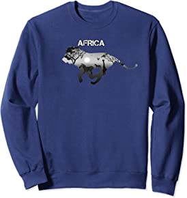 African Lion Sweatshirt - Lion of Africa Sweatshirt