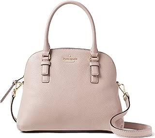 Kate Spade New York Jackson Street Lottie Pebble Leather Satchel Bag, Bone Grey