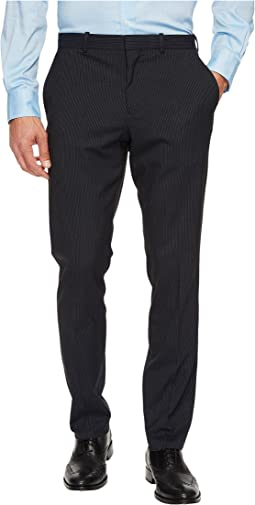 Perry Ellis - Slim Fit Subtle Pinstripe Dress Pants