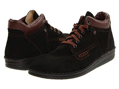 Finn Comfort Linz 1008 (Black/Brown) Men