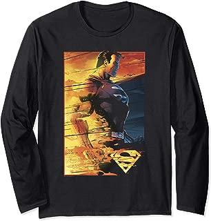 Superman Fireproof Longsleeve T Shirt