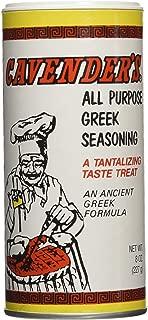 Cavenders All Purpose Greek Seasoning, 4 Pack (4 X 8oz)