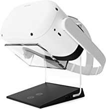 Illuminated Charging VR Stand – Universally Compatible with Oculus Quest, HTC Vive, Rift-s, Go, Cosmos, PSVR, Index and Al...