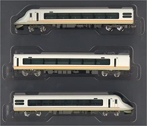 Kintetsu Series 21020 [Urban Liner next] Standard Three Car Formation Set (w Motor) (Model Train)