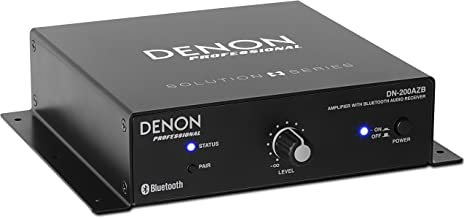 Denon Professional DN-200AZB | Compact Amplifier with Bluetooth Receiver