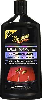 MEGUIAR'S G172300 Ultimate Compound Restaurador de Pintura, Color Negro, 300 ml/10.1 oz, Paquete de 1
