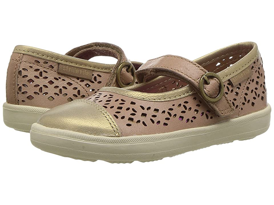 Stride Rite Poppy (Toddler/Little Kid) (Tan) Girls Shoes