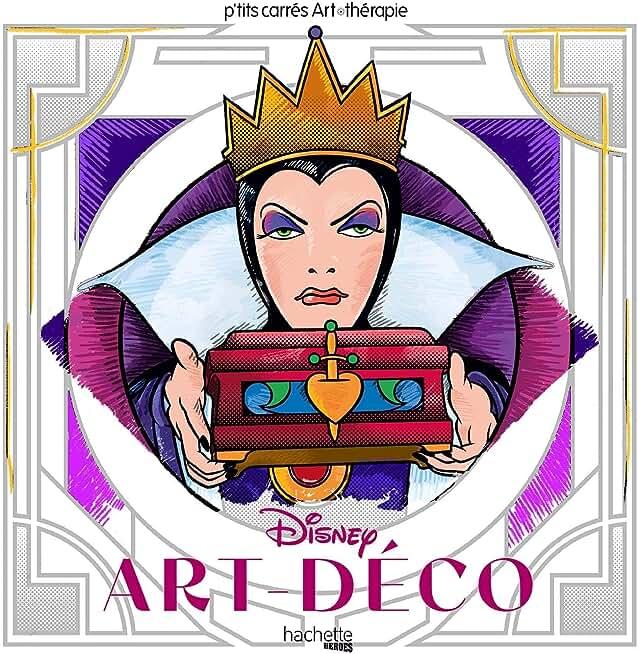 Les carrés d'Art Thérapie Disney Art déco